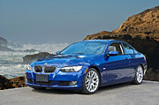 German Race Car Prints - 2013 BMw 328i Sports Coupe Print by Dave Koontz