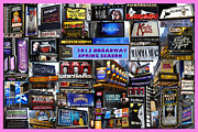 Broadway Digital Art Originals - 2013 Broadway Spring Collage by Steven Spak