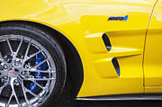 Limited Edition Framed Prints - 2013 Chevy Corvette ZR1 Framed Print by Rich Franco