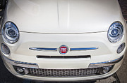 Inexpensive Metal Prints - 2013 Fiat 500 Turbo Metal Print by Rich Franco