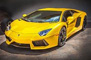 2013 Prints - 2013 Lamborghini Adventador LP 700 4 Print by Rich Franco