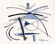 Lynne Taetzsch - 2014 Abstract Drawing #1