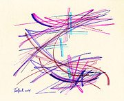 Lynne Taetzsch - 2014 Abstract Drawing #11