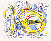 Lynne Taetzsch - 2014 Abstract Drawing #2