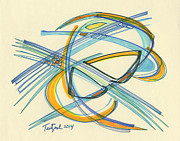 Lynne Taetzsch - 2014 Abstract Drawing #4