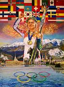 2014 Sochi Winter Olympics Print by Sean OConnor