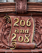 Numbers - 206 And 208 by Robert Ullmann