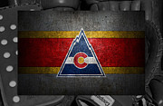 Captain Posters - Colorado Rockies Poster by Joe Hamilton