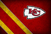 Nfl Prints - Kansas City Chiefs Print by Joe Hamilton
