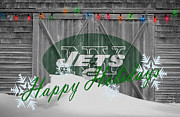 New York Paintings - New York Jets by Joe Hamilton
