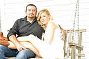 Engagement Photo Prints - 210 Print by Teresa Blanton