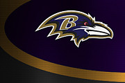 Offense Prints - Baltimore Ravens Print by Joe Hamilton