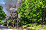 Brakeman Photos - Cass Scenic Railroad by Mary Almond