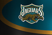 Jaguars Framed Prints - Jacksonville Jaguars Framed Print by Joe Hamilton