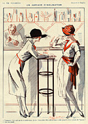 20Õs  Art - La Vie Parisienne  1920 1920s France by The Advertising Archives
