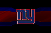 Offense Prints - New York Giants Print by Joe Hamilton