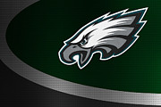 Eagles Prints - Philadelphia Eagles Print by Joe Hamilton