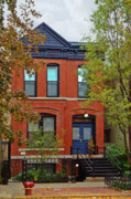 Autumn Photographs Acrylic Prints - 22 W Eugenie St Old Town Chicago Acrylic Print by Christine Till