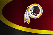 Offense Prints - Washington Redskins Print by Joe Hamilton