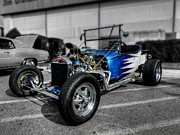 Custom Cars Prints - 23 T-Bucket 001 Print by Lance Vaughn