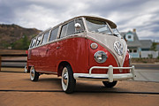 Volkswagen Photos - 23 Window by Peter Tellone
