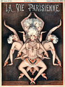 Poster Art - 1920s France La Vie Parisienne Magazine by The Advertising Archives