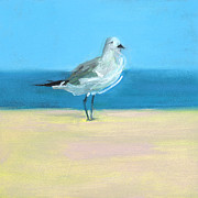 Beach Bird Paintings - RCNpaintings.com by Chris N Rohrbach