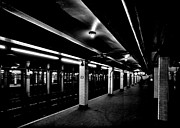 Midcentury Photo Framed Prints - 23rd Street Station Framed Print by Benjamin Yeager