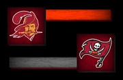 Offense Prints - Tampa Bay Buccaneers Print by Joe Hamilton