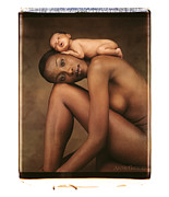 Nude Fine Art Framed Prints - Untitled Framed Print by Anne Geddes