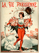 Giants Drawings - 1920s France La Vie Parisienne Magazine by The Advertising Archives