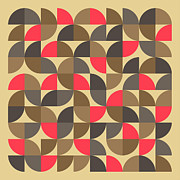 Geometric Prints - 25 Percent #3 Print by Jazzberry Blue
