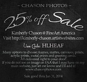 Kimberly Chason - 25 Percent Off SALE