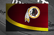 Nfl Posters - Washington Redskins Poster by Joe Hamilton