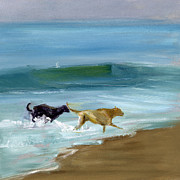 Dog Paintings - RCNpaintings.com by Chris N Rohrbach
