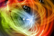 Abstract Galaxy Posters - Abstract background Poster by Les Cunliffe