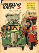 Real Drawings - 1930s,uk,the Passing Show,magazine Cover by The Advertising Archives