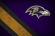 Offense Framed Prints - Baltimore Ravens Framed Print by Joe Hamilton
