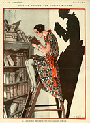 French Books Posters - La Vie Parisienne 1924 1920s France Poster by The Advertising Archives