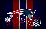 New England Patriots Print by Joe Hamilton