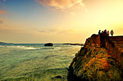 Galle Posters - Sunset Poster by Anusha Hewage