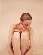 Nude Color Posters - Untitled Poster by Anne Geddes