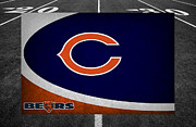 Chicago Posters - Chicago Bears Poster by Joe Hamilton