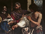 Prodigal Son Framed Prints - Italy, Lazio, Rome, Borghese Gallery Framed Print by Everett