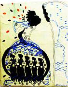 Wise Virgins Print by Gloria Ssali