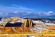 Cathedral Rock Photos - Capitol Reef National  Park Cathedral Valley by Mark Smith