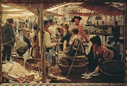 Italian Market Framed Prints - Italy, Lazio, Rome, National Gallery Framed Print by Everett
