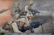 Bravery Photo Prints - 29 Palms Mural 1 Print by Bob Christopher