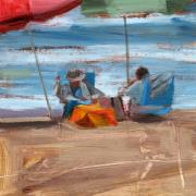 Warm Summer Paintings - RCNpaintings.com  by Chris N Rohrbach
