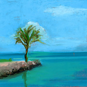 Key West Prints - RCNpaintings.com Print by Chris N Rohrbach